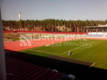 """Объект: """"Стадион """" г. Нововоронеж, Синтетика-2 ©"""